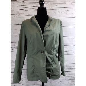 Army green Cabi blazer